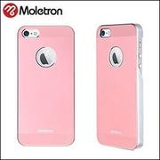Moletron  NUANCE for iPhone 5/5S 超薄時尚手機保護背蓋★粉色款★