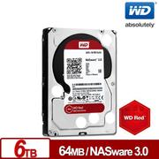 WD 威騰 紅標 6TB 3.5吋NAS硬碟(NASware3.0) WD60EFRX