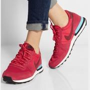 NIKE WMNS INTERNATIONALIST 復古休閒鞋 紅色US7=24cm