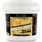 【Ultimate Nutrition】Muscle Juice 肌力果汁高熱量乳清蛋白10.45磅(香蕉口味)