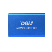 DGM My Mobile Storage Portable SSD 256GB 固態硬碟 藍色 (MMS256BL) 香港行貨