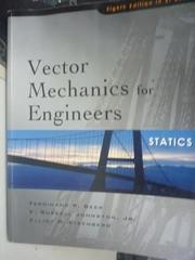 【書寶二手書T9/大學理工醫_PKX】Vector Mechanics for Engineers8/e_