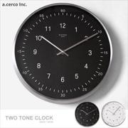 E&J【019002】a.cerco TWO TONE Clock 掛鐘 時鐘