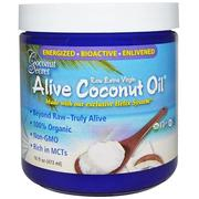 [iHerb] Coconut Secret, Organic Alive Coconut Oil, Raw Extra Virgin, 16 fl oz (473 ml)