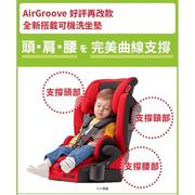 APRICA AIRGROOVE PLUS 可機洗成長安全座椅