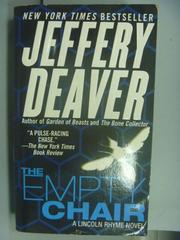 【書寶二手書T8/原文小說_NNB】The Empty Chair_Jeffery Deaver