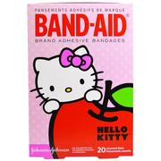 [iHerb] Band Aid, Adhesive Bandages, Hello Kitty, 20 Assorted Sizes