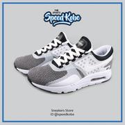 ☆sp☆NIKE AIR MAX ZERO ESSENTIAL 白灰黑 氣墊慢跑鞋 男 876070-005