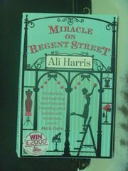 【書寶二手書T5/原文小說_NBZ】Miracle on Regent Street_Ali Harris