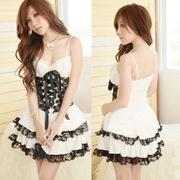 Sexy Lolita Princess Dress Costume Cosplay Party Lingerie