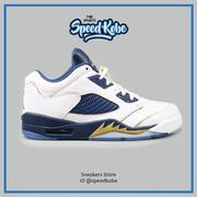 ☆SP☆NIKE AIR JORDAN 5 RETRO LOW (GS)  AJ5 白藍金 女 314338-135