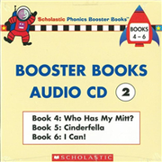 Phonics Booster Books Audio CD 02 (Book 04-06)