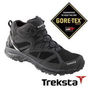 Treksta EVOLUTION 161 MID 男GTX 防水中筒登山鞋 黑  KR16GM