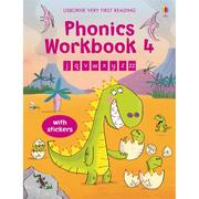 Usborne Phonics Workbook 4 發音活動本 貼紙書 *夏日微風*