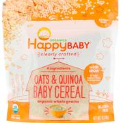 [iHerb] Nurture Inc. (Happy Baby), Organic, Clearly Crafted, Oats & Quinoa Baby Cereal, 7 oz (198 g)