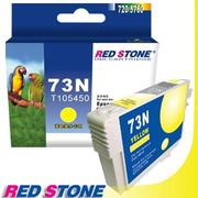 RED STONE for EPSON 73N/T105450墨水匣(黃色)