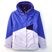 (女)The North Face HV HS 兩件式外套紫CUD8DDF-