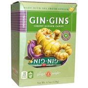[iHerb] [iHerb] The Ginger People Gin · Gins, Chewy Ginger Candy, 4.5 oz (128 g)