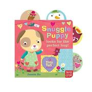 Nosy Crow - Tiny Tabs拉拉操作書-Snuggle Puppy Looks for the Perfect Hug