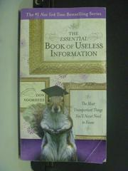 【書寶二手書T7/財經企管_KHA】The Essential Book of Useless