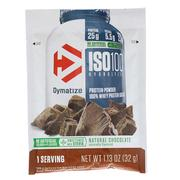 [iHerb] Dymatize Nutrition, ISO100 Hydrolyzed, 100% Whey Protein, Natural Chocolate, Trial Size, 1.13 oz (32 g)