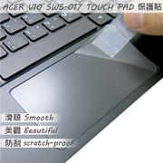 【Ezstick】ACER Switch V10 SW5-017 TOUCH PAD 觸控板 保護貼