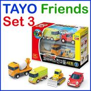 [Iconix Korea]◆Sale Event◆Authentic◆Tayo Special The Little Bus Friends Set 3 / Toy Gift