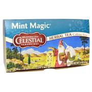 [iHerb] Celestial Seasonings, Mint Magic Herbal Teas, Caffeine Free, 20 Tea Bags, 1.4 oz (41 g)