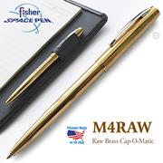 Fisher Space Pen M4 系列Cap-O-Matic 黃銅太空筆(#M4RAW)