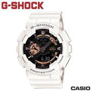 "CASIO《G-SHOCK ""BIG G""》THREE EYE玫瑰金系列 GA-110RG-7A"