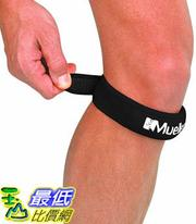[106美國直購] Mueller 膝蓋護帶 Jumper's Knee Strap, Black, 1 Size Fits Most