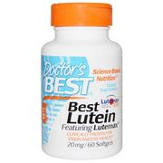 [iHerb] Doctor's Best, Best Lutein, Featuring Lutemax, 20 mg, 60 Softgels