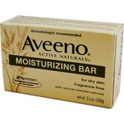[iHerb] Aveeno, Active Naturals, Moisturizing Bar, Fragrance Free, 3.5 oz (100 g)