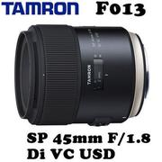 Tamron SP 45mm F1.8 Di VC USD F013 (公司貨)