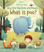 Lift-The-Flap Very First Questions And Answers:What is Poo? 我的第一本Q&A:便便是什麼 精裝硬頁翻翻操作書