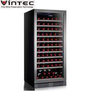 【VINTEC】單門單溫酒櫃 Stainless  Steel  V110SGE S3 領券現折
