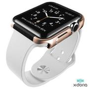 X-doria Apple Watch(42mm)保護殼Defense Edge刀鋒系列-土豪金