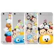 Disney iPhone 6/6s TSUM TSUM可愛透明保護軟套