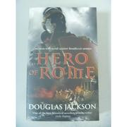 【書寶二手書T9/原文小說_IQF】Hero of Rome_Jackson, Douglas