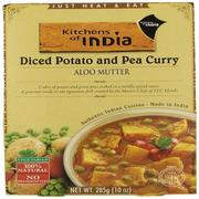 Kitchens of India, Aloo Mutter, Diced Potato and Pea Curry, 10 oz (285 g)