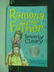 【書寶二手書T5/原文小說_IBJ】Ramona and her father_CLEARY, BEVERLY