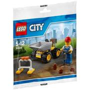 【積木樂園】樂高 LEGO 30348 迷你堆土車 工地 City城市系列 Mini Dumper polybag