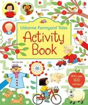 英國 Usborne Farmyard Tales Activity Book 貼紙遊戲書 *夏日微風*
