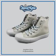 ☆SP☆CONVERSE Chuck Taylor All Star 軍綠灰 防水 軟橡膠 高筒 153801C