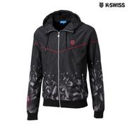 K-Swiss Gradient Windbreaker風衣外套-男-黑