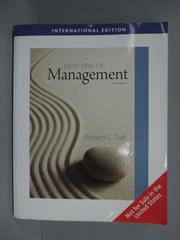 【書寶二手書T1/大學商學_ZHH】New Era of Management_Richard L. Daft