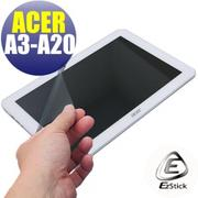 【EZstick】ACER Iconia Tab 10 A3-A20 FHD 系列專用 靜電式平板LCD液晶螢幕貼 (鏡面防汙)