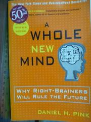 【書寶二手書T8/文學_QCW】A Whole New Mind_Daniel H.Pink