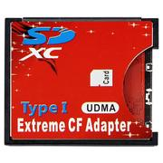 Extreme CF Adapter SD to CF TYPE I 轉接卡(最大支援128G)