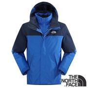 The North Face 男 Gore-tex 兩件式防水保暖羽絨外套『藍』 CTS2